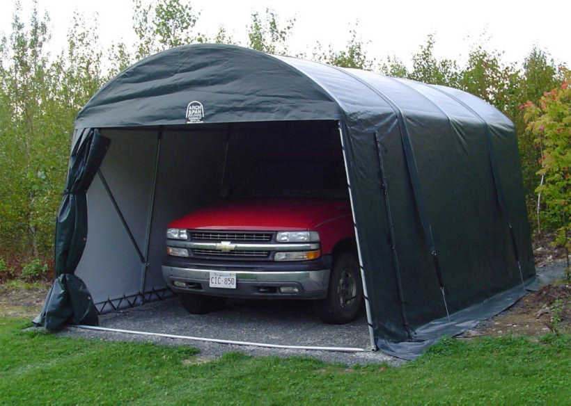 Portable Garages Simplify Your Winter Plans | CanopiesAnd ...