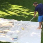 tarp-cleaning